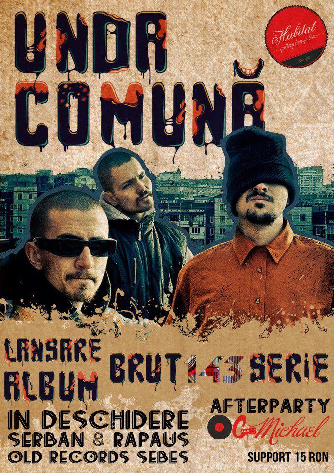 unda comuna brut 143 serie album
