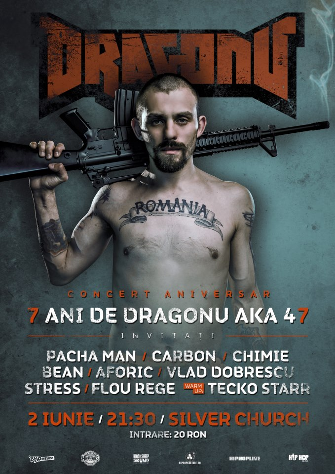 7 Ani de Dragonu Ak47 @Bucuresti @ Silver Church